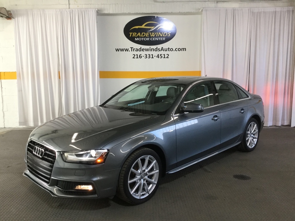 2016 AUDI A4 PREMIUM for sale at Tradewinds Motor Center
