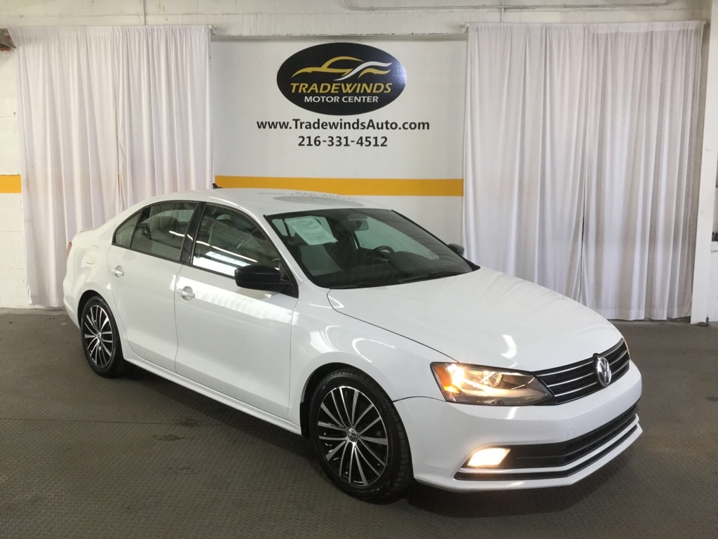 2016 VOLKSWAGEN JETTA SPORT for sale at Tradewinds Motor Center
