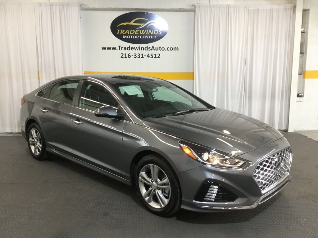 2019 HYUNDAI SONATA SEL for sale at Tradewinds Motor Center