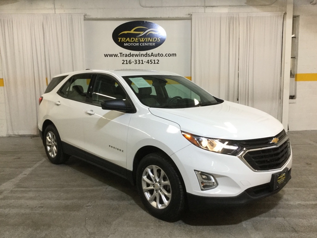 2018 CHEVROLET EQUINOX LS for sale at Tradewinds Motor Center