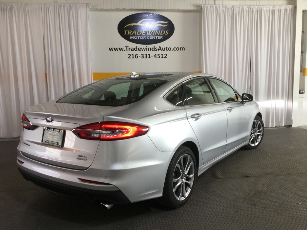 2019 FORD FUSION SEL for sale at Tradewinds Motor Center
