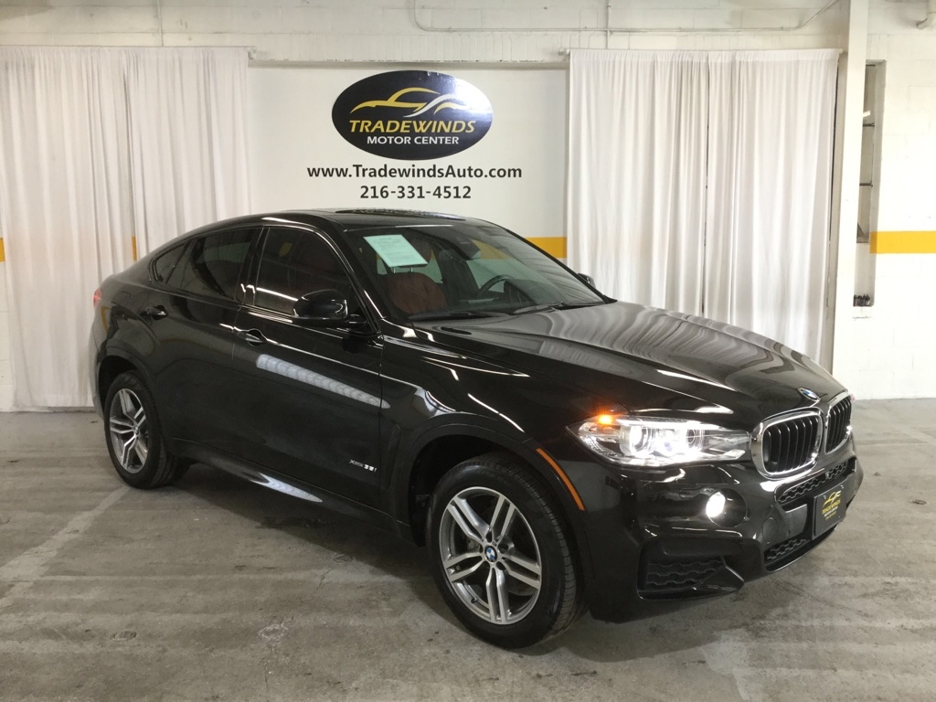 2017 BMW X6 XDRIVE35I for sale at Tradewinds Motor Center