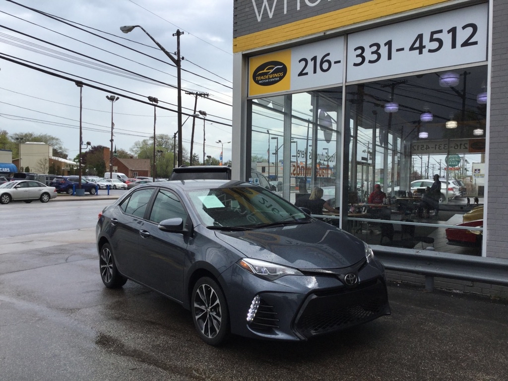2019 TOYOTA COROLLA SE for sale at Tradewinds Motor Center