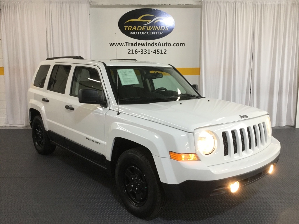 2016 JEEP PATRIOT SPORT for sale at Tradewinds Motor Center