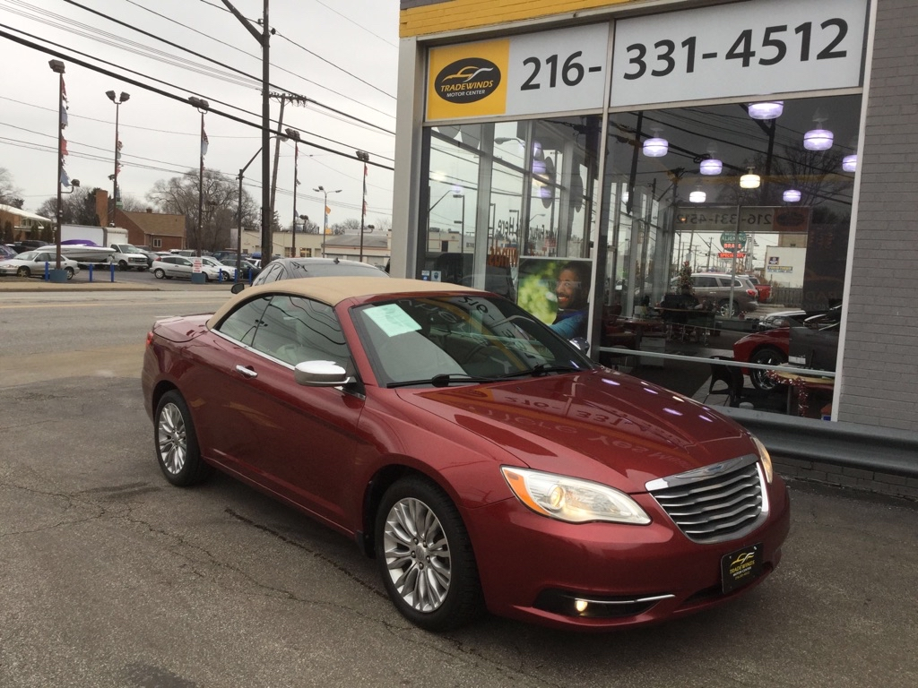 2012 CHRYSLER 200 LIMITED for sale at Tradewinds Motor Center