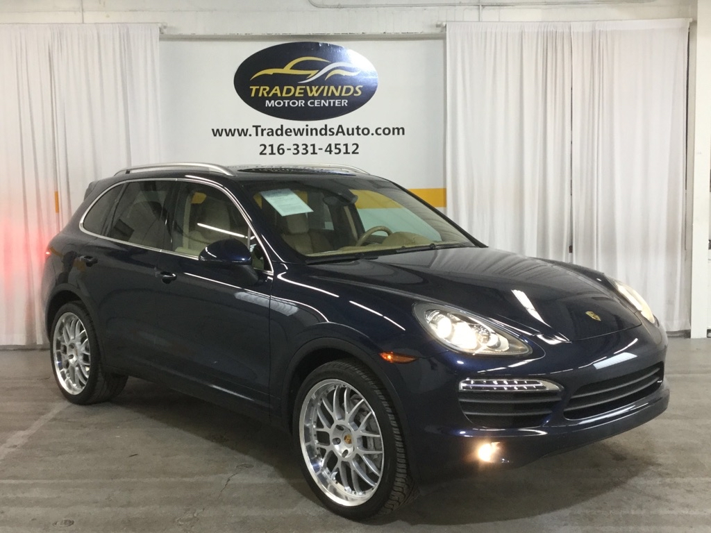 2011 PORSCHE CAYENNE S for sale at Tradewinds Motor Center