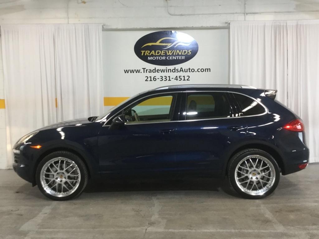 2011 PORSCHE CAYENNE S for sale at Tradewinds Motor Center