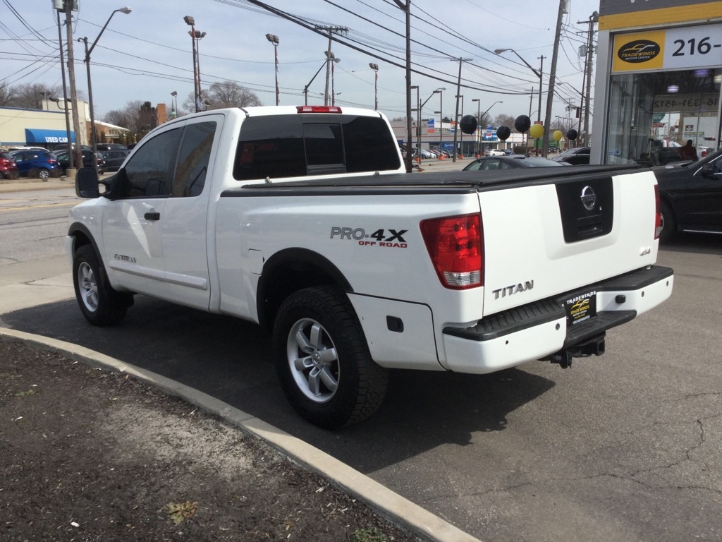 2008 NISSAN TITAN XE for sale at Tradewinds Motor Center