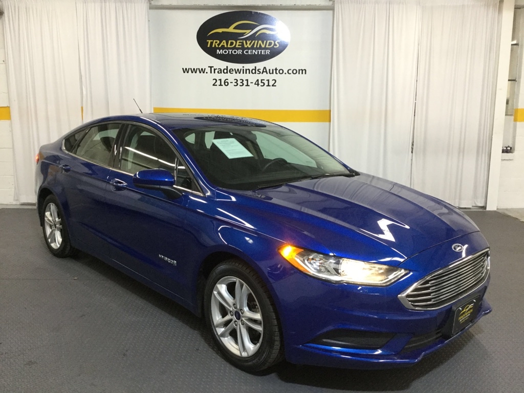 2018 FORD FUSION SE HYBRID for sale at Tradewinds Motor Center