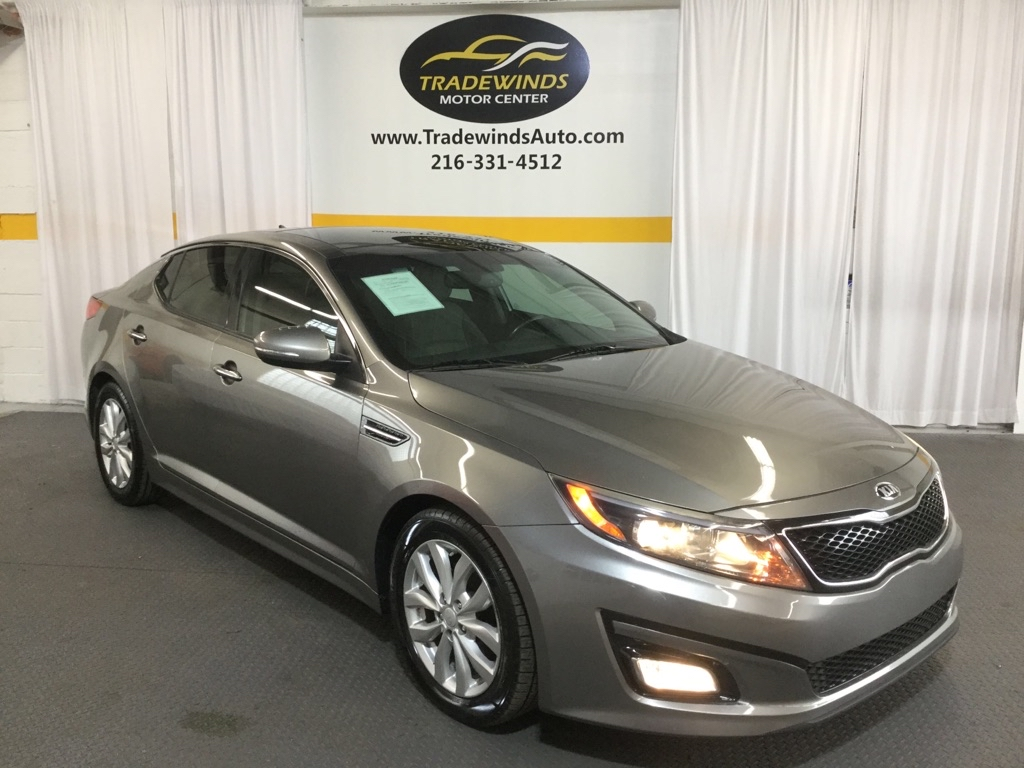 2015 KIA OPTIMA EX for sale at Tradewinds Motor Center