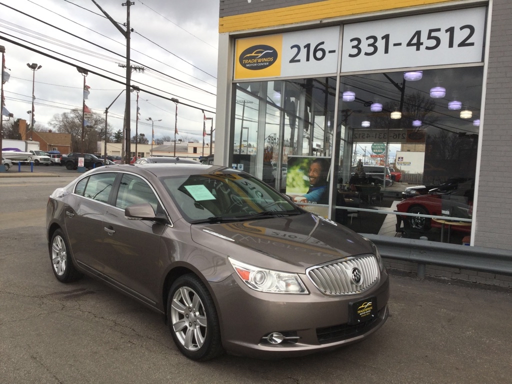 2011 BUICK LACROSSE CXL for sale at Tradewinds Motor Center