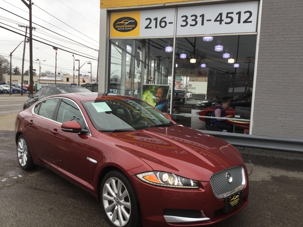 2013 JAGUAR XF SUPERCHARGED for sale at Tradewinds Motor Center