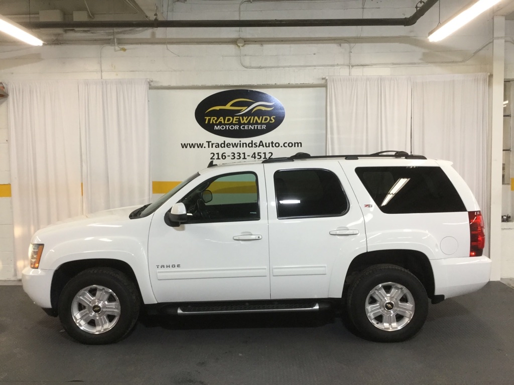 2013 CHEVROLET TAHOE 1500 LT Z71 for sale at Tradewinds Motor Center