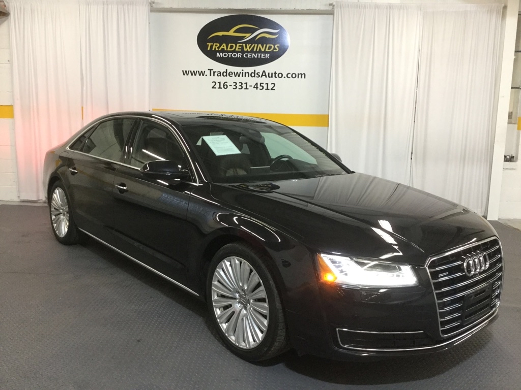 2015 AUDI A8 L QUATTRO for sale at Tradewinds Motor Center