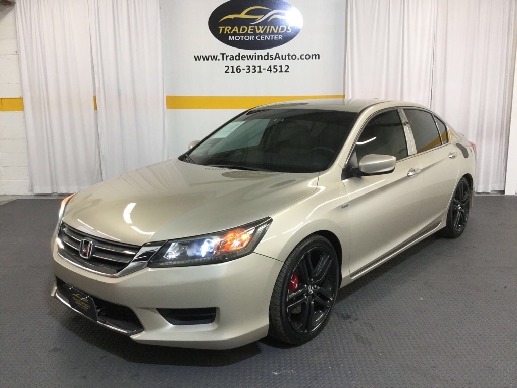 2014 HONDA ACCORD LX for sale at Tradewinds Motor Center