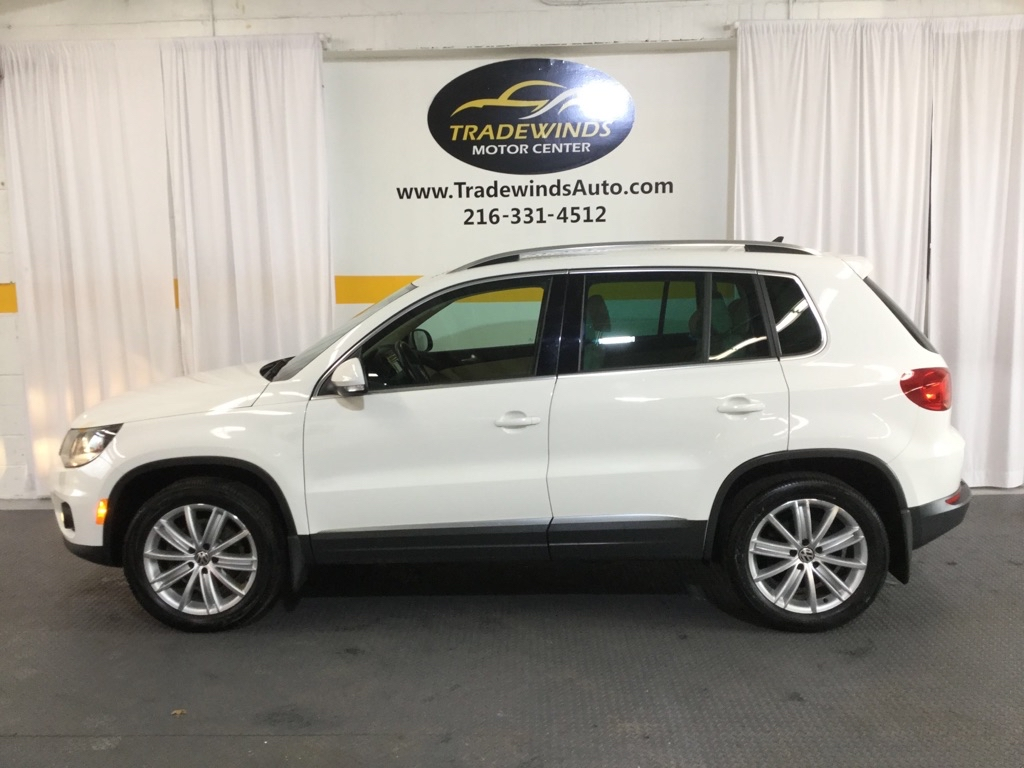 2013 VOLKSWAGEN TIGUAN SEL for sale at Tradewinds Motor Center