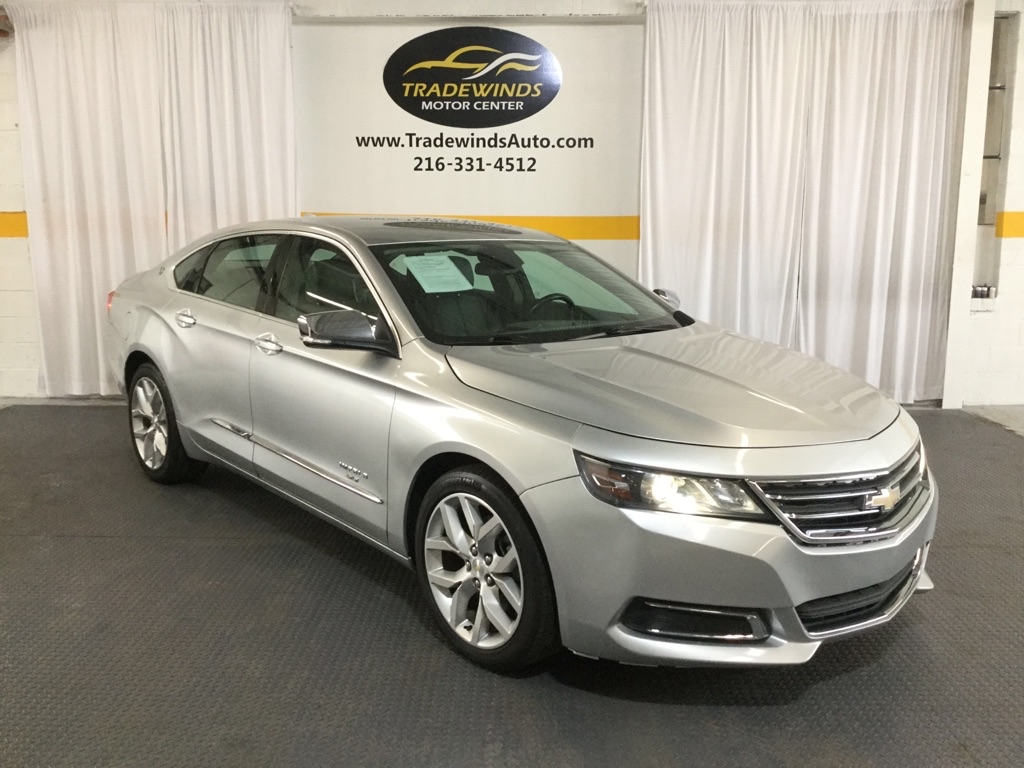 2015 CHEVROLET IMPALA LTZ for sale at Tradewinds Motor Center