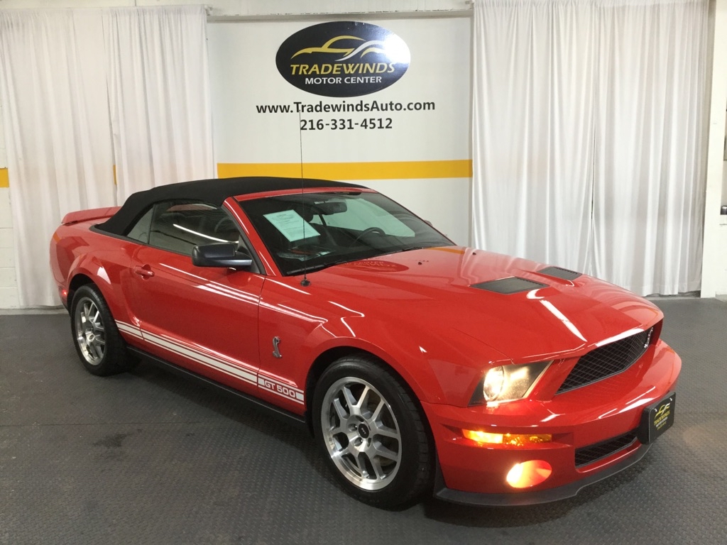 2007 FORD MUSTANG SHELBY GT500 for sale at Tradewinds Motor Center