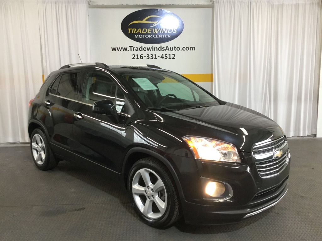 2016 CHEVROLET TRAX LTZ for sale at Tradewinds Motor Center