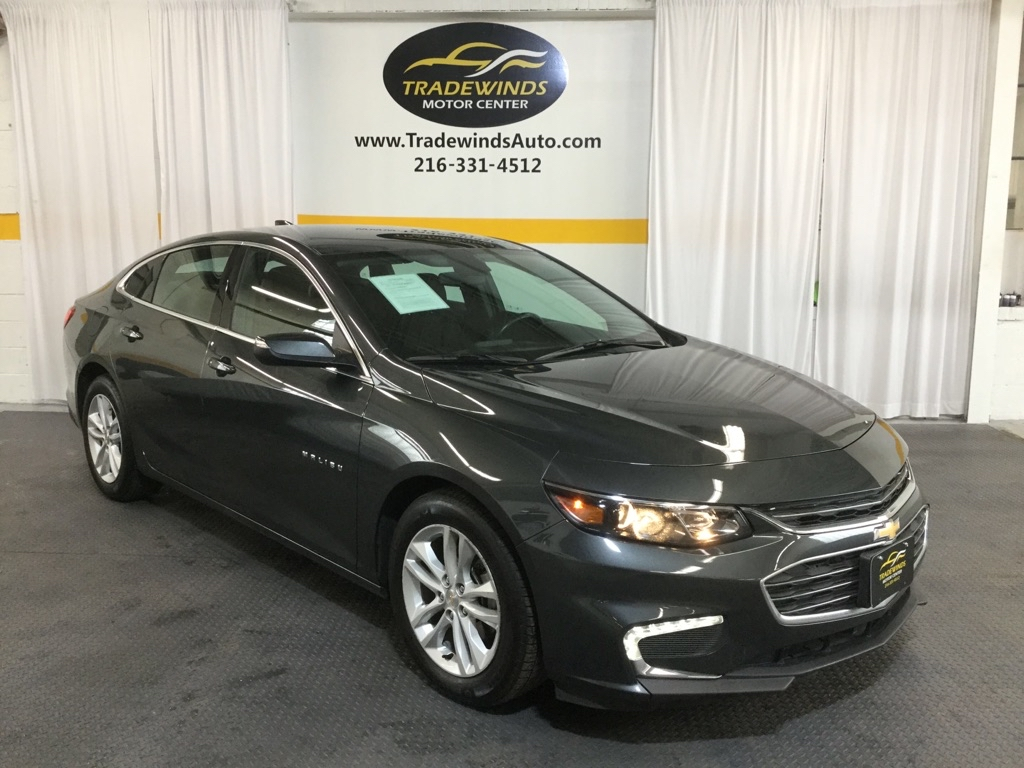 2016 CHEVROLET MALIBU LT for sale at Tradewinds Motor Center