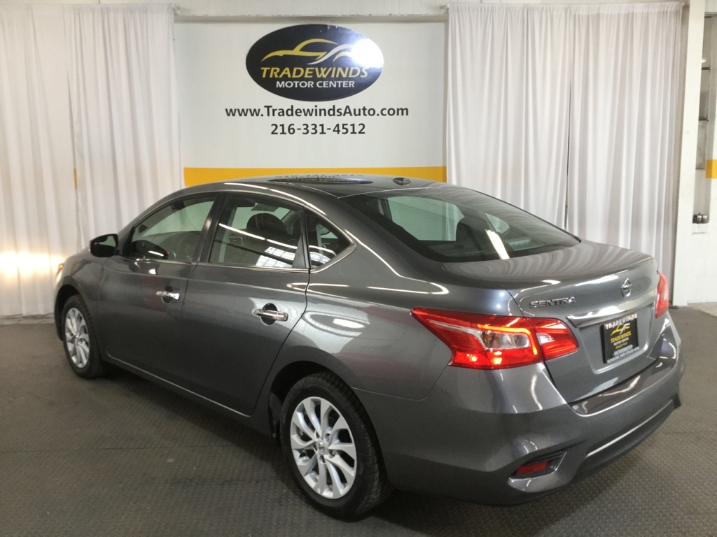 2018 NISSAN SENTRA SV for sale at Tradewinds Motor Center
