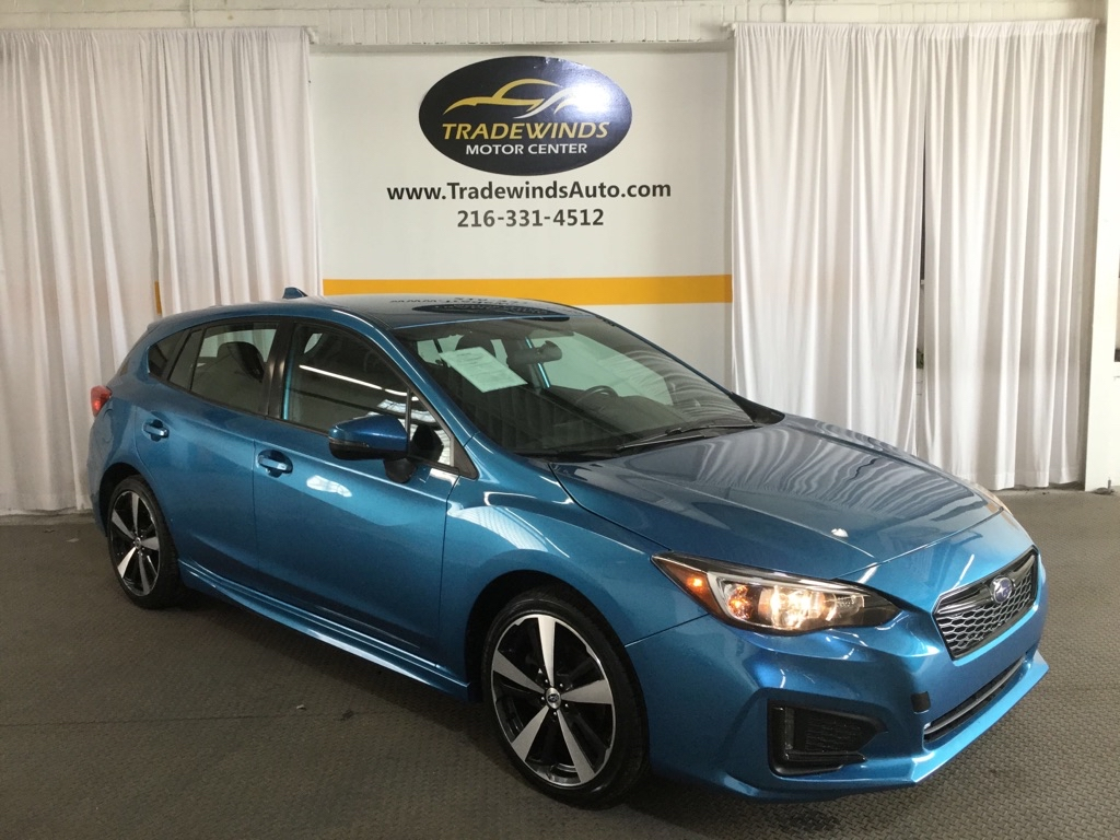 2017 SUBARU IMPREZA SPORT for sale at Tradewinds Motor Center