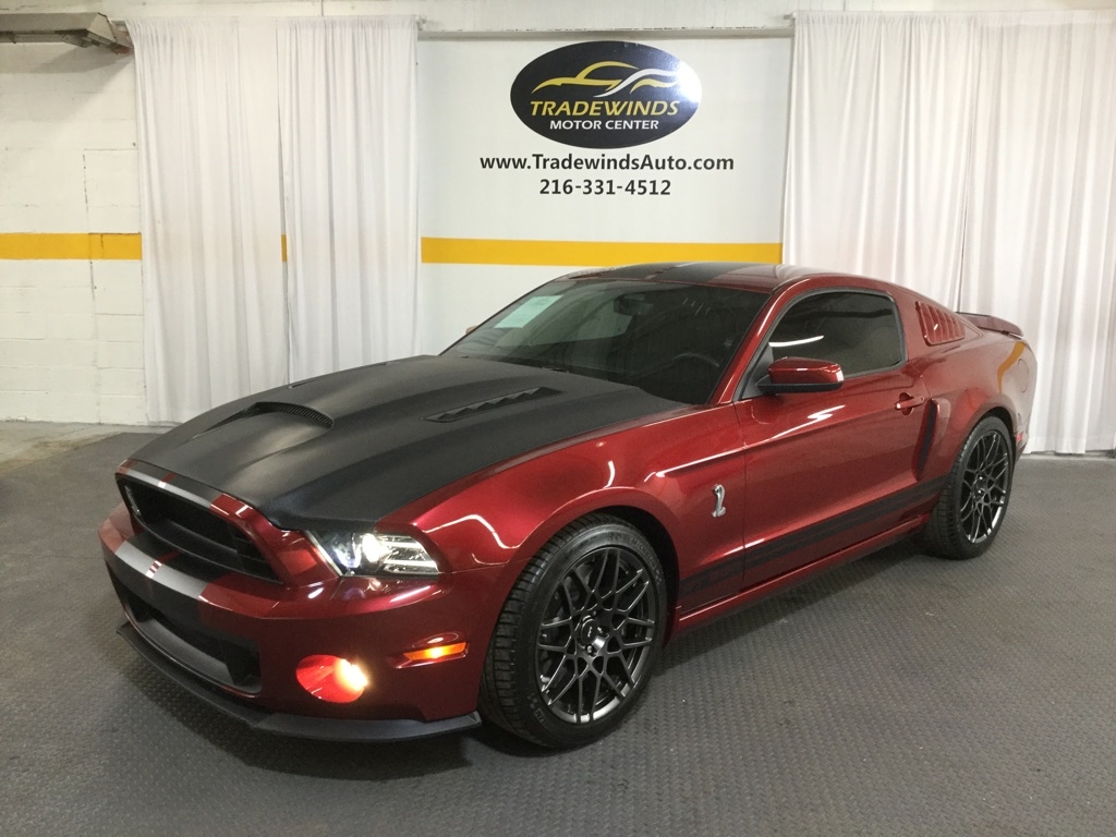 2014 FORD MUSTANG SHELBY GT500 for sale at Tradewinds Motor Center