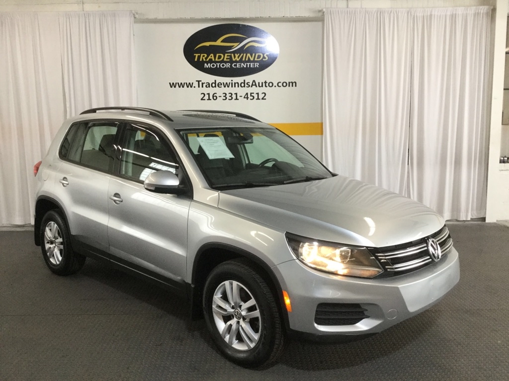2017 VOLKSWAGEN TIGUAN S for sale at Tradewinds Motor Center