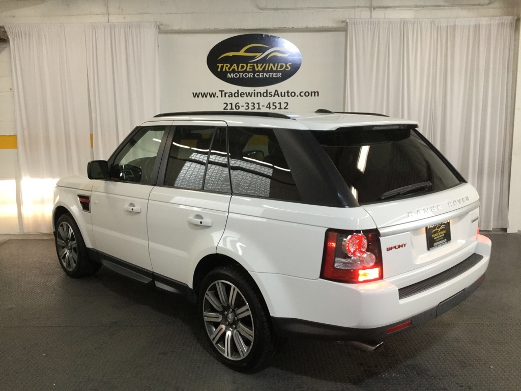 2013 LAND ROVER RANGE ROVER SPO SC for sale at Tradewinds Motor Center