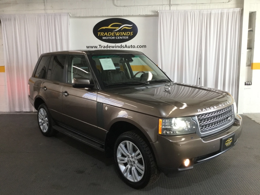 2010 LAND ROVER RANGE ROVER HSE LUXURY for sale at Tradewinds Motor Center