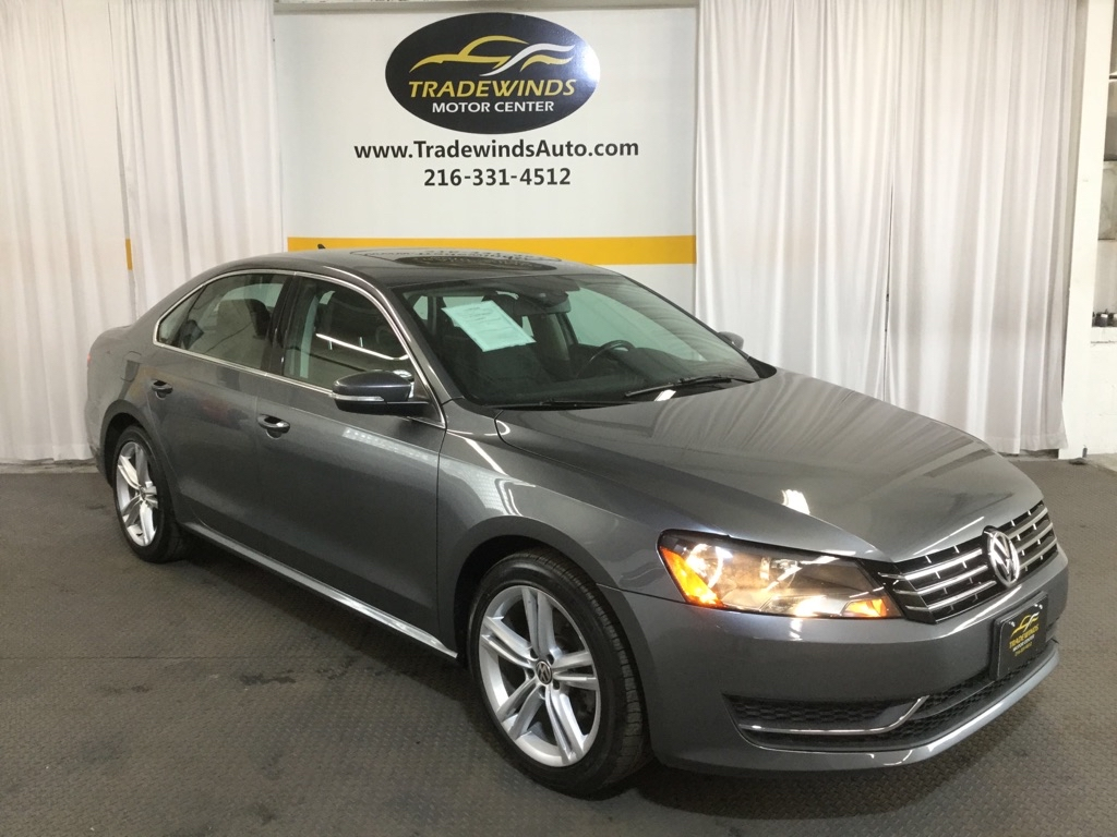 2015 VOLKSWAGEN PASSAT SE for sale at Tradewinds Motor Center