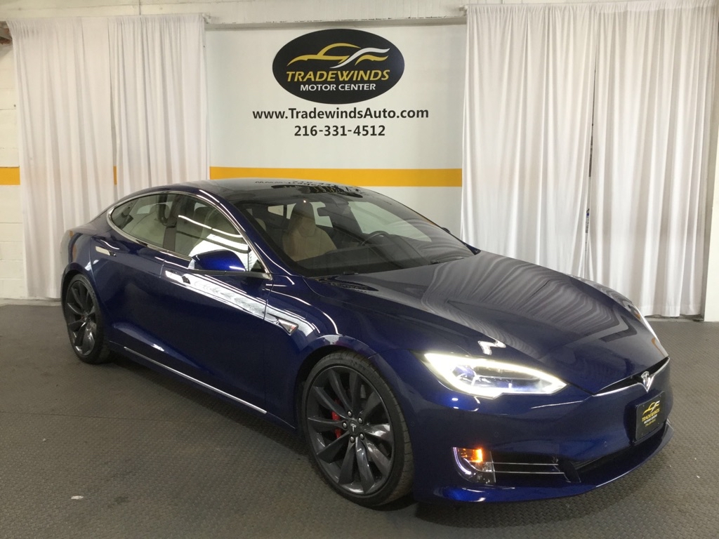 2016 TESLA MODEL S P90D LUDICROUS plus for sale at Tradewinds Motor Center