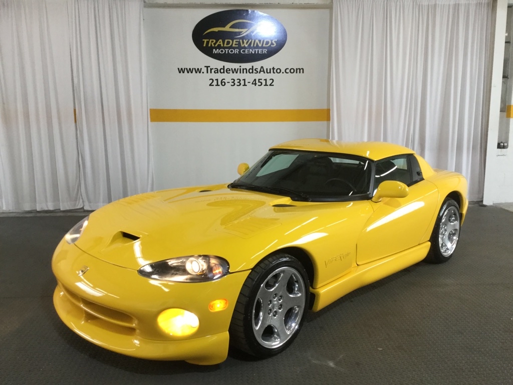 2001 DODGE VIPER RT-10 for sale at Tradewinds Motor Center