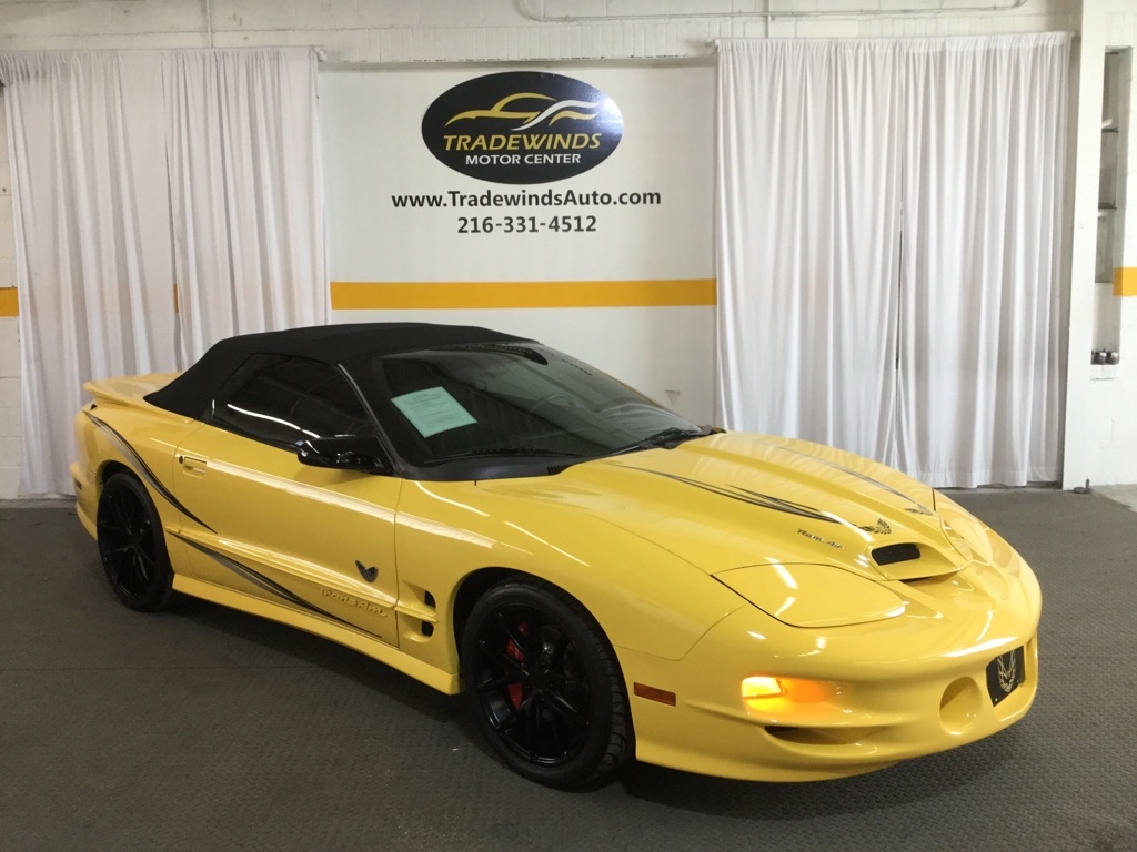 2002 PONTIAC FIREBIRD TRANS AM for sale at Tradewinds Motor Center