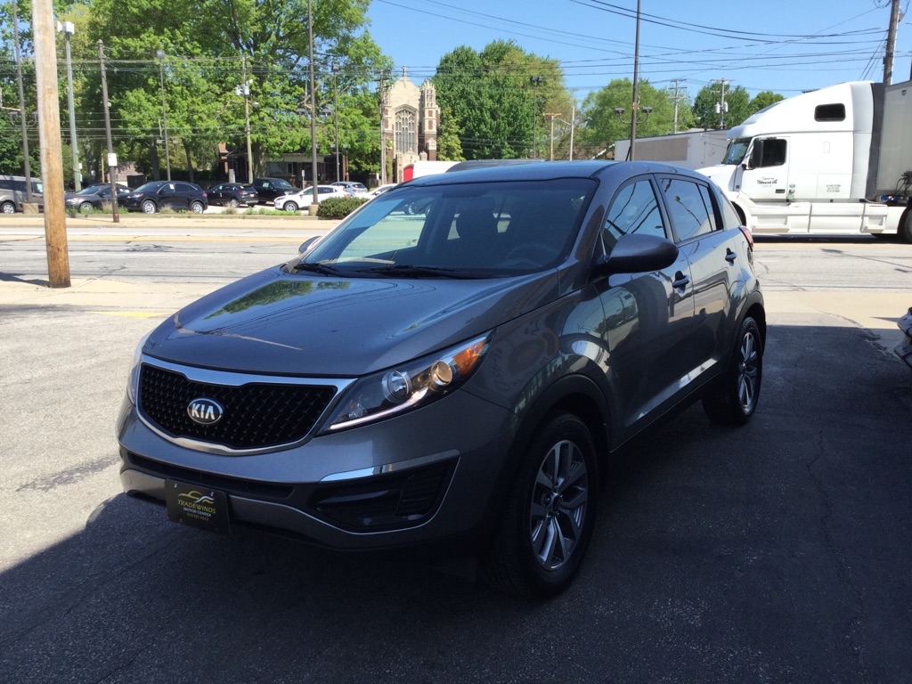 2016 KIA SPORTAGE LX for sale at Tradewinds Motor Center