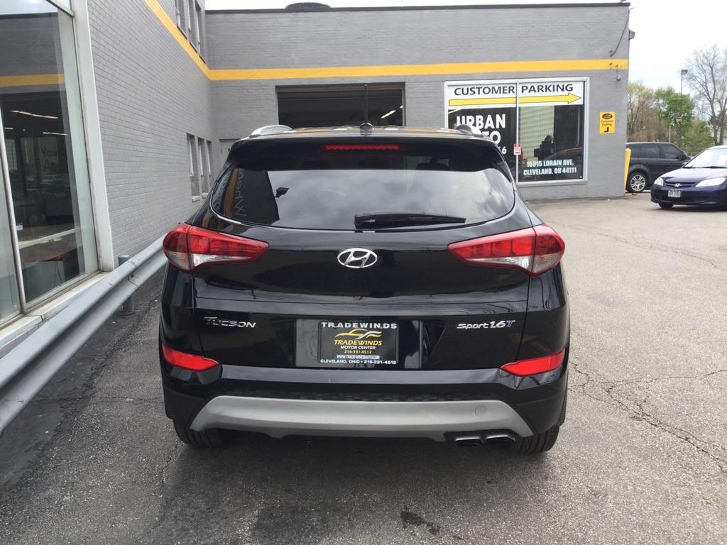 2017 HYUNDAI TUCSON SPORT for sale at Tradewinds Motor Center