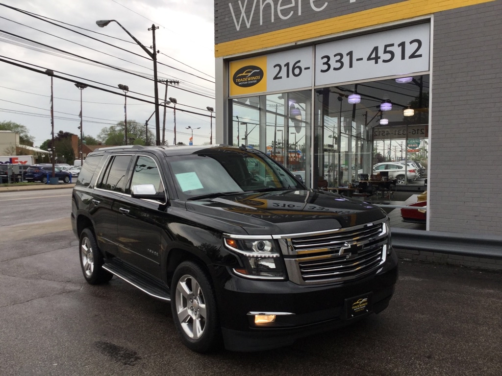 2015 CHEVROLET TAHOE 1500 LTZ for sale at Tradewinds Motor Center