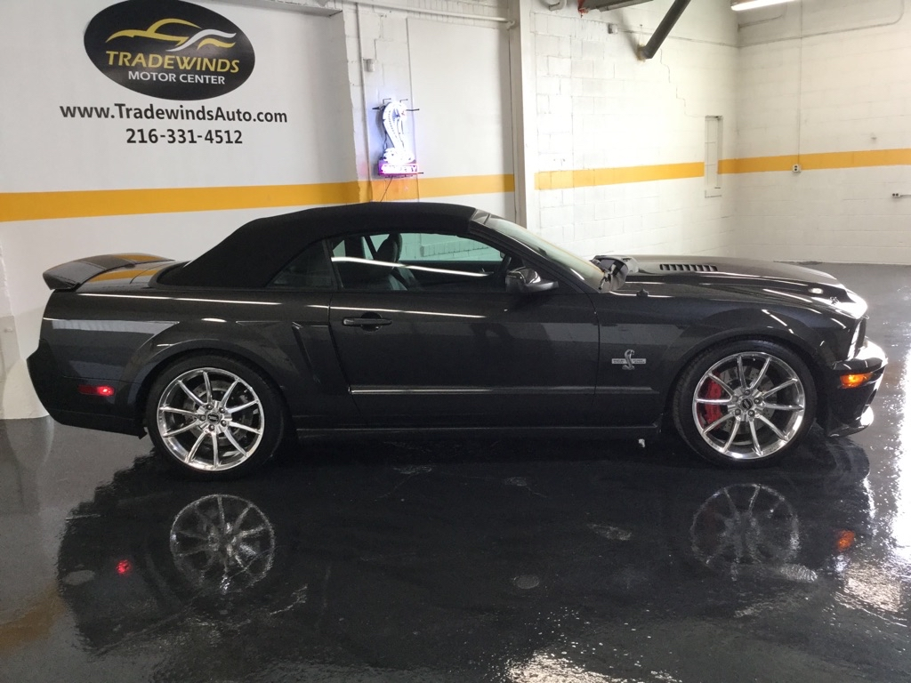 2008 FORD MUSTANG SHELBY GT500 SUPER SNAKE for sale at Tradewinds Motor Center