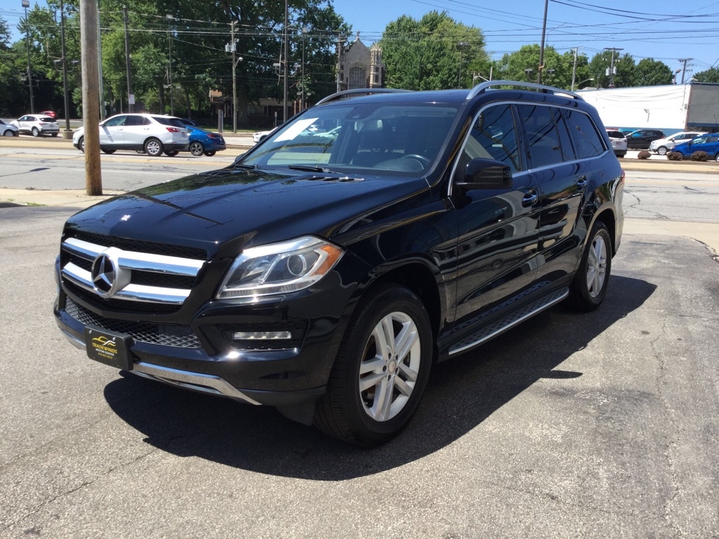 2015 MERCEDES-BENZ GL 450 4MATIC for sale at Tradewinds Motor Center
