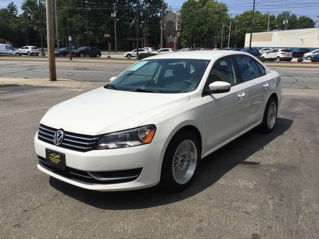 2014 VOLKSWAGEN PASSAT S for sale at Tradewinds Motor Center
