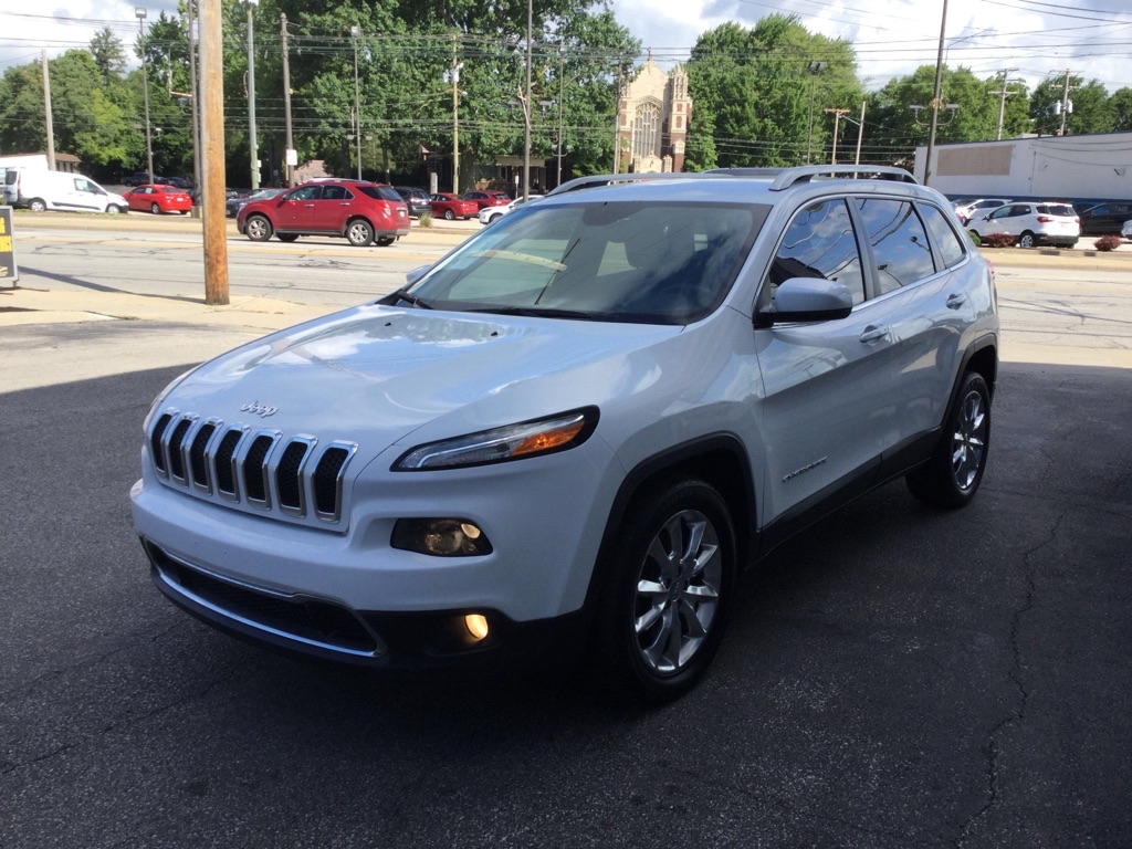 2016 JEEP CHEROKEE LIMITED for sale at Tradewinds Motor Center
