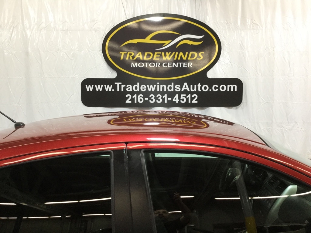 2019 NISSAN VERSA SV for sale at Tradewinds Motor Center