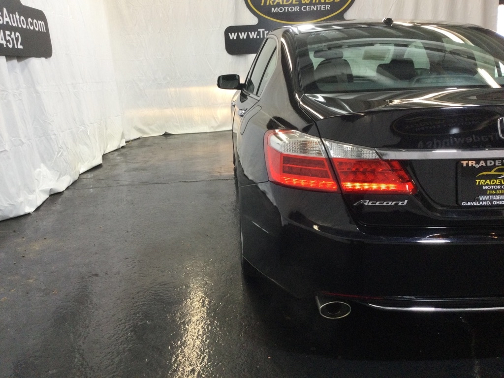 2015 HONDA ACCORD EXL for sale at Tradewinds Motor Center