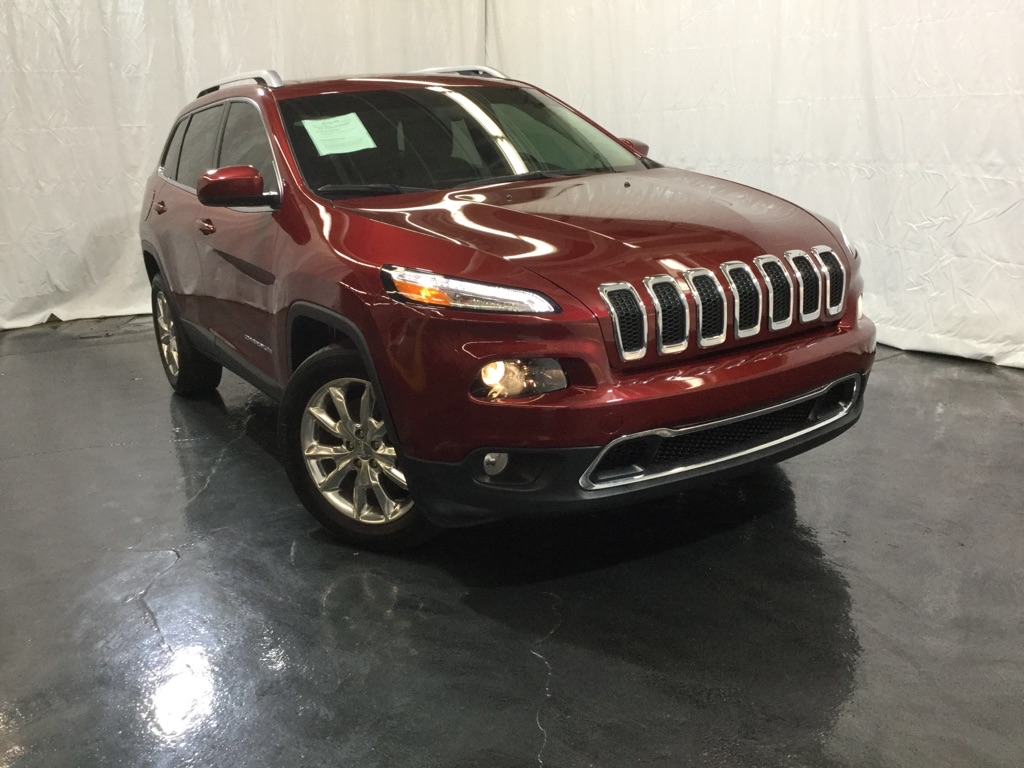 2015 JEEP CHEROKEE LIMITED for sale at Tradewinds Motor Center