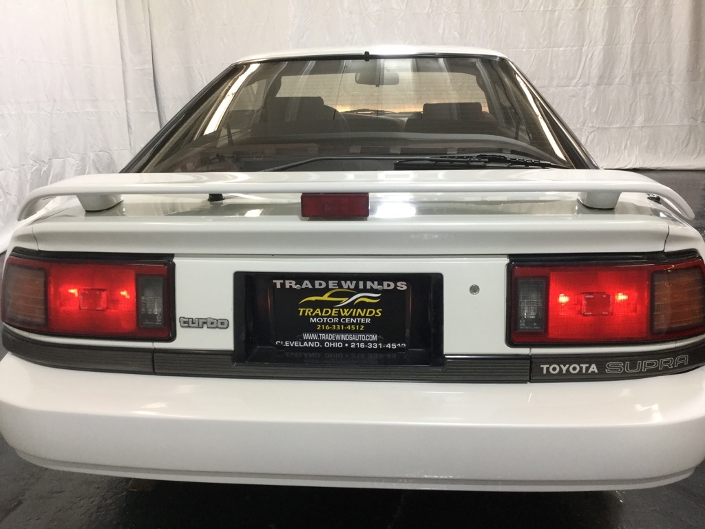 1987 TOYOTA SUPRA TURBO SPORT ROOF for sale at Tradewinds Motor Center