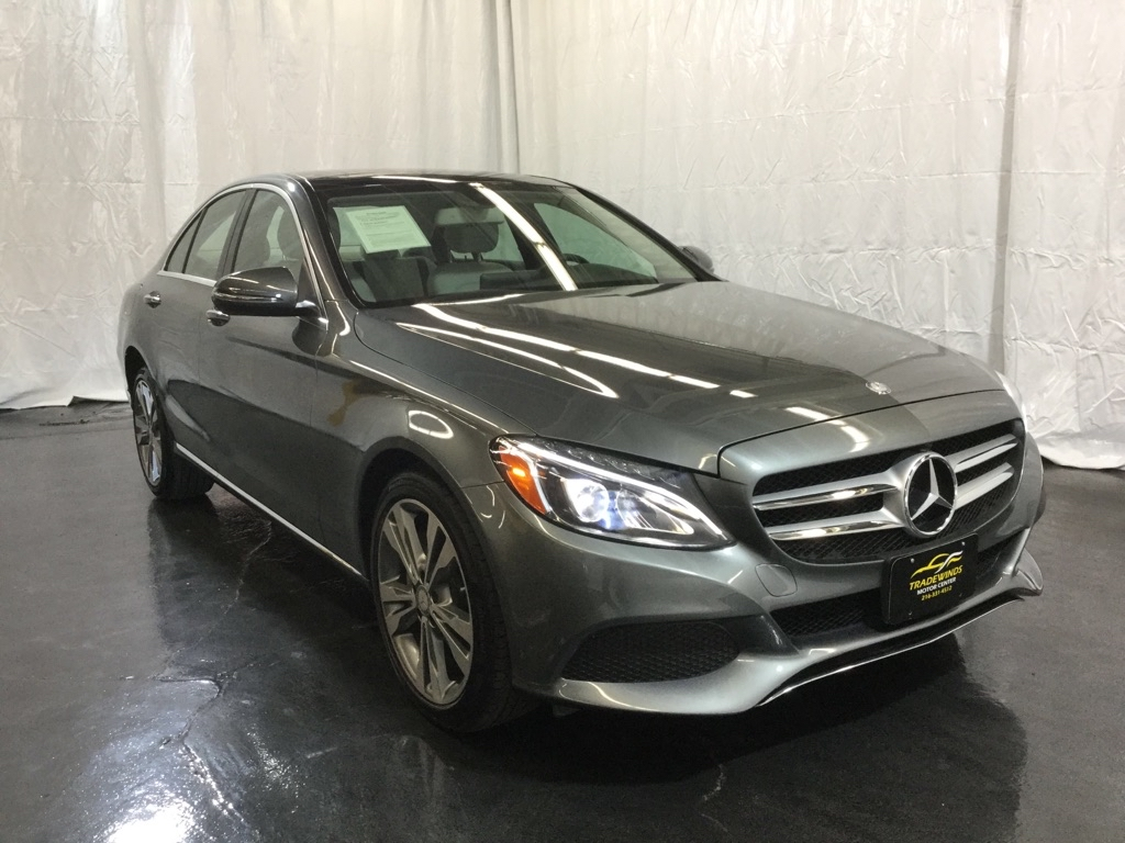 2017 MERCEDES-BENZ C-CLASS C300 4MATIC for sale at Tradewinds Motor Center