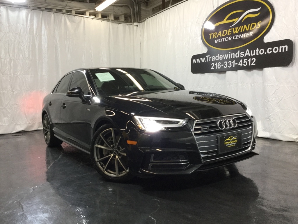 2017 AUDI A4 PREMIUM PLUS for sale at Tradewinds Motor Center