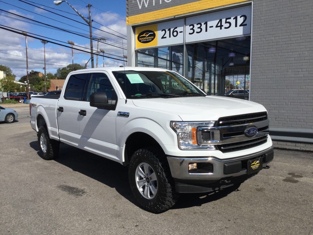 2018 FORD F150 XLT SUPERCREW for sale at Tradewinds Motor Center