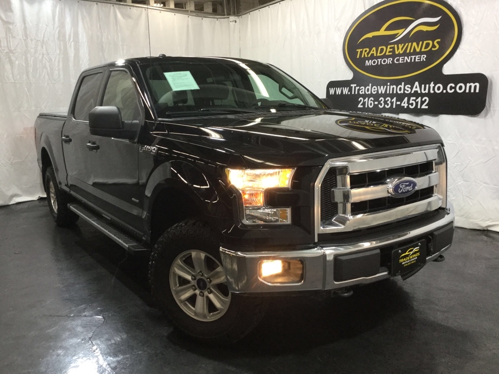 2017 FORD F150 XLT SUPERCREW for sale at Tradewinds Motor Center