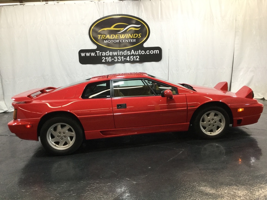 1989 LOTUS ESPRIT SE TURBO for sale at Tradewinds Motor Center